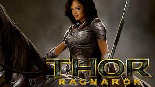 Thor Ragnarok Tessa Thompson Interview on BlackTree TV