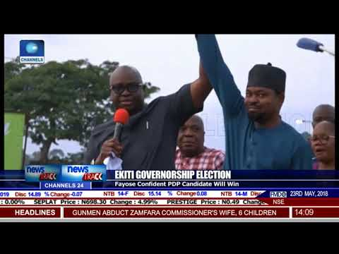 Ekiti Governorship Election: Fayose Leads Campaign For PDP Candidate