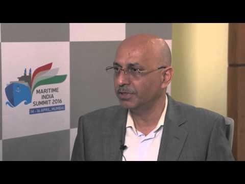 Mr. Sailesh Bhatia, MD, Bhatia Shipping speaks on Maritime India Summit 2016