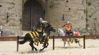 Combats de Chevaliers - Dinan fête médiévale des rempart 2014