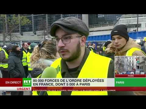 Afflux de Gilets jaunes à Bercy : «Une famille qui s'est créée»