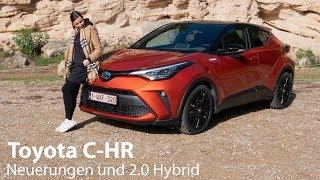 """2020 Toyota C-HR 2.0 Hybrid """"Orange Edition"""" Test / Endlich mit Apple CarPlay :)  - Autophorie"""