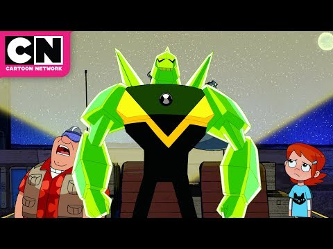 Ben 10 | Movie Monster Becomes Alive | Cartoon Network thumbnail