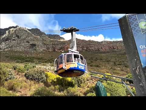 Table Mountain Cable Car in Cape Town - South Africa | Cape Town Vacation Travel Guide