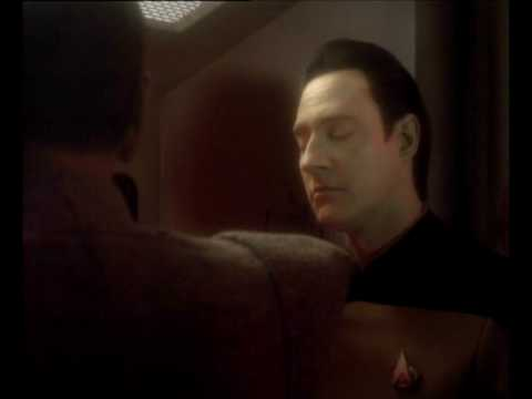 Data's question to Spock