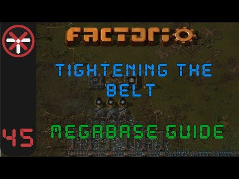 Factorio: Tightening The Belt: Megabase Guide EP45 - NEW STEEL SMELTER | Tutorial Gameplay Series