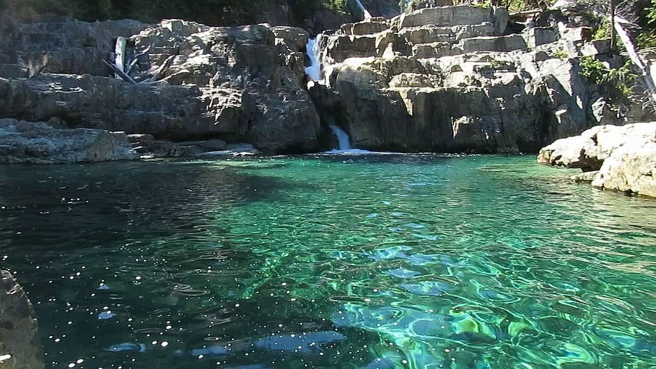 Vancouver Island ~ Lower Myra Falls