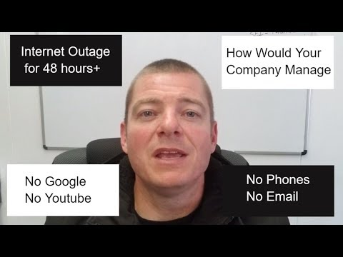 Google Outage | Internet Down How Would your Business Function?