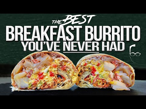 The Best Breakfast Burrito You Never Knew Existed | SAM THE COOKING GUY 4K