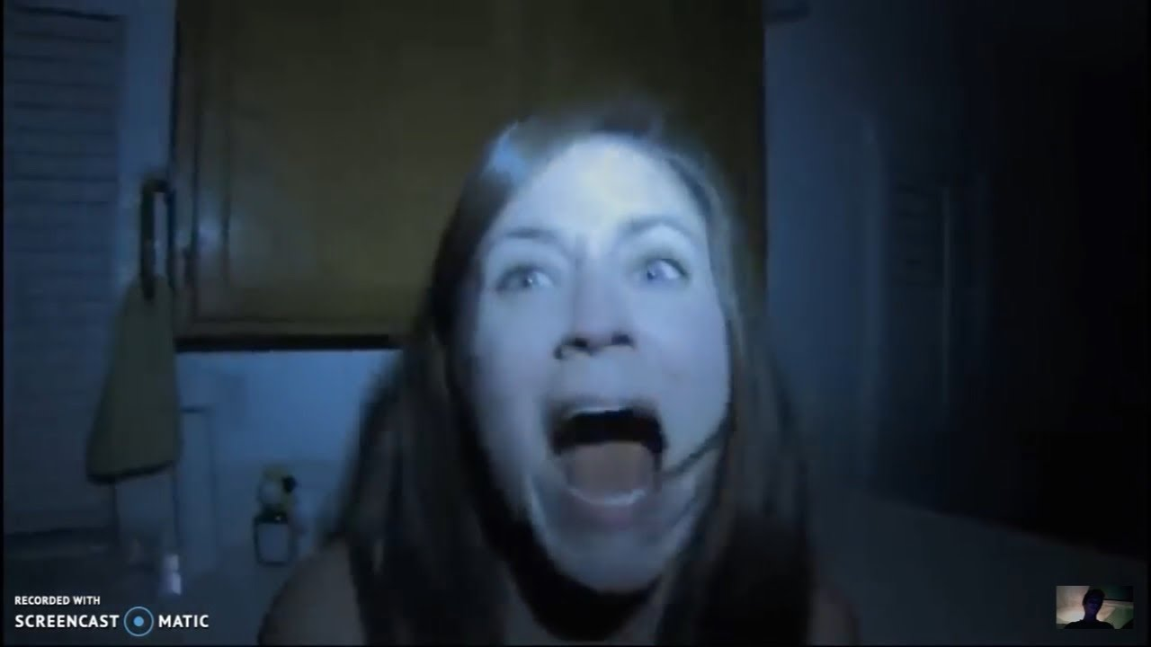 Every Paranormal Activity Death Ever! - YouTube