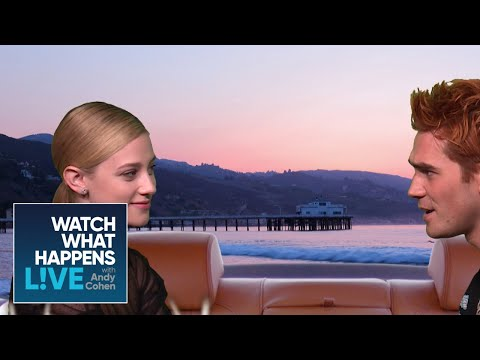 Lili Reinhart And KJ Apa Play Brenda And Dylan From '90210' | WWHL