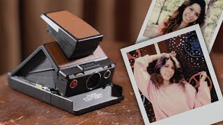 POLAROID SX-70 Skin Replacement and Photoshoot