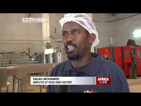 First Soft Drinks Factory Opens Shop In Mogadishu