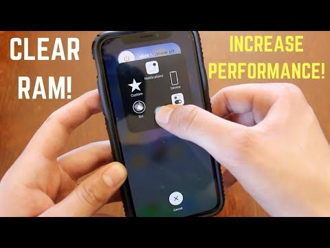 How To Clear RAM On iPhone X, XR, XS
