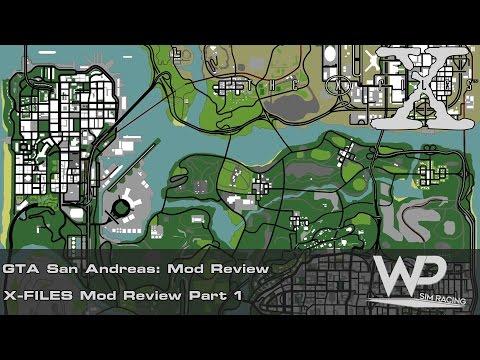 Gta San Andreas | X-Files Mod Review | Part 1