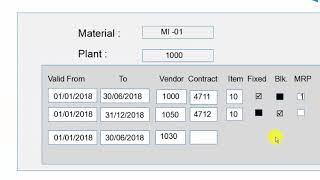 SAP MM | Table EORD | Kaynak Listesi SAP MM | SAP Kaynak Listesinde Kaynak Listesi Oluşturmak