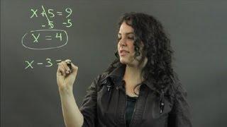 Het Oplossen van Algebraïsche Vergelijkingen met Behulp van Inverse Bewerkingen : Metingen en Andere Wiskundige Berekeningen