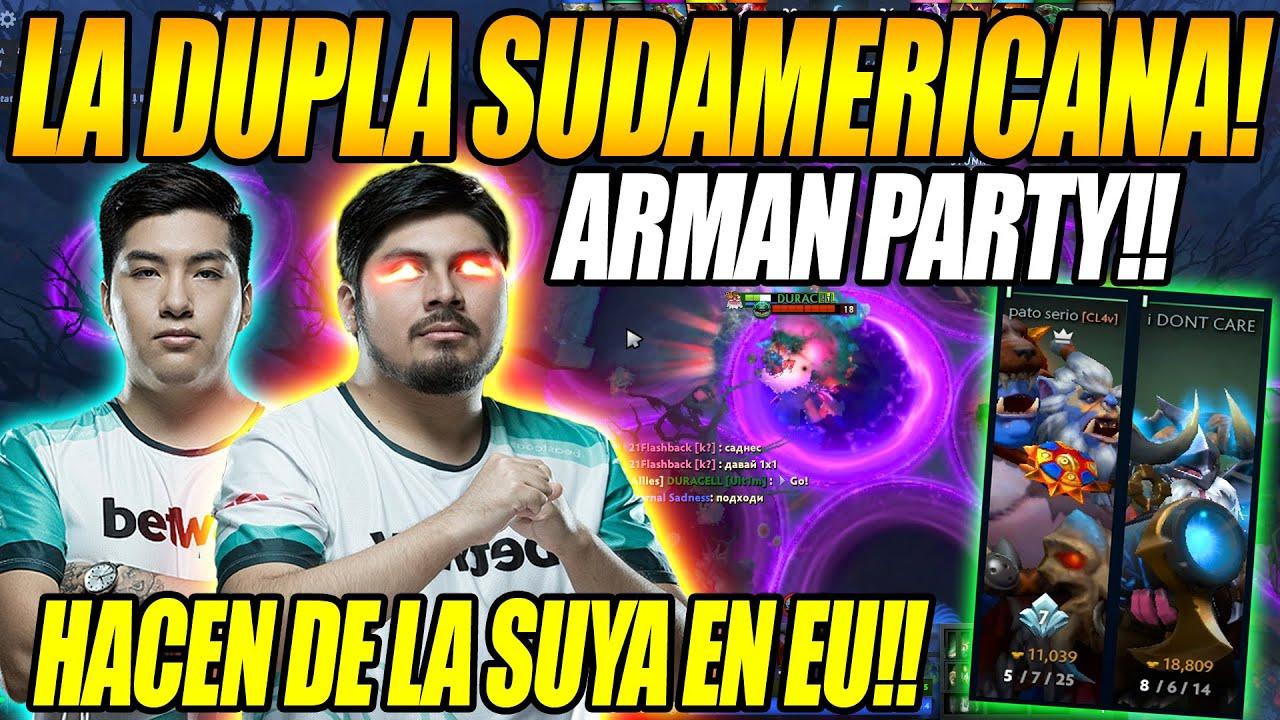 Download LA DUPLA SUDAMERICANA!! K1 HECTOR Y STINGER ARMAN PARTY  Y HACEN DE LA SUYAS EN RANKED EUROPEO
