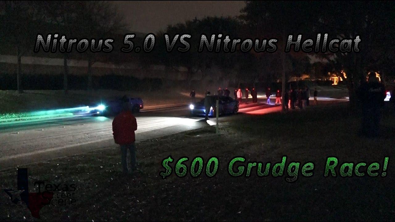 Nitrous Hellcat Vs Nitrous 5 0 Watch In Hd