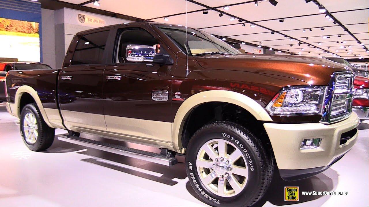 2017 Ram 2500 Laramie Longhorn Turbo Sel Exterior Interior Walkaround Montreal Auto Show You