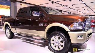 2015 RAM 2500 Laramie Longhorn Turbo Diesel - Exterior,Interior Walkaround - 2015 Montreal Auto Show