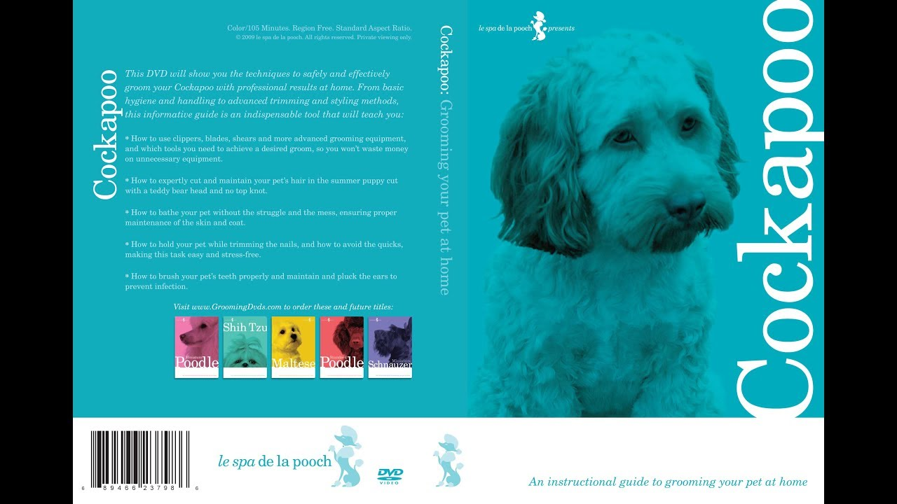 Cocker Spaniel Dog Grooming Instructional How To DVD Video and .