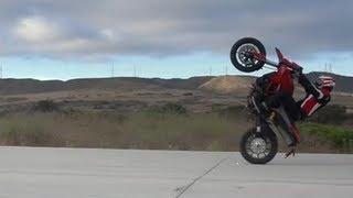"Ducati Hype: ""Wheelie Challenge"" - TransWorld Motocross"