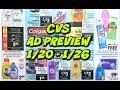CVS EARLY AD PREVIEW 1/20 - 1/26 | FREE GLUCERNA, DEODORANT, & HAIR CARE!
