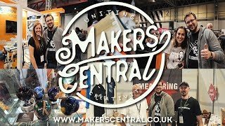 Makers Central 2019 - full tour, Epoxy Q&A panel, interviews with makers and more - time stamps