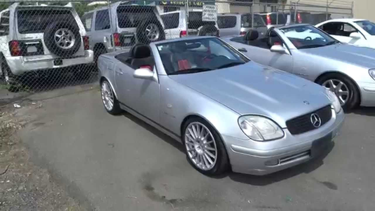 1999 mercedes benz slk class slk230 kompressor for sale in. Black Bedroom Furniture Sets. Home Design Ideas