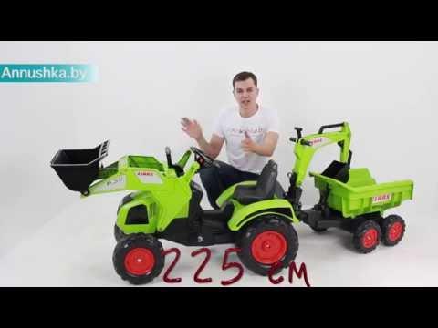 Педальный трактор Falk 1010W для детей от 3 х лет