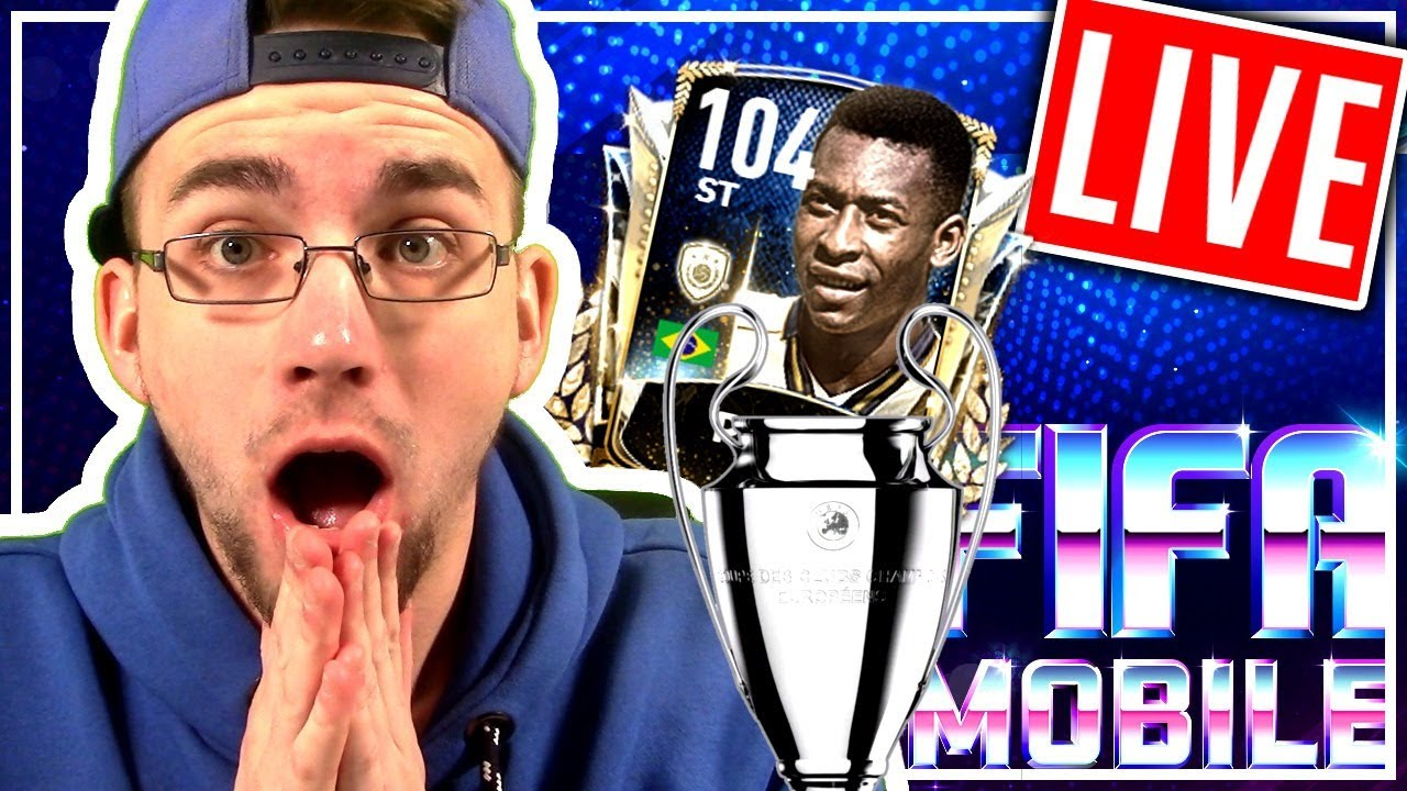 FIFA 20 Mobile: CHAMPIONS LEAGUE EVENT? + GOLDEN TICKET +  SCHLAG PACKSTRADER 😱🔥 Live