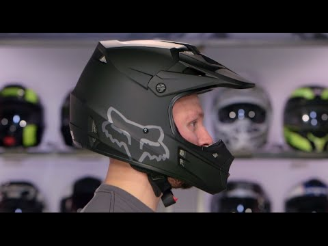 Fox Racing V1 Helmet Review at RevZilla.com