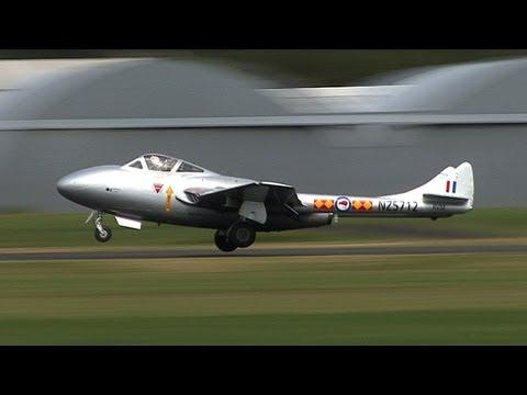 de Havilland Vampire Jet Display