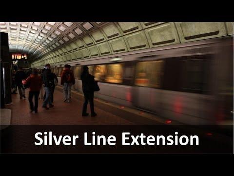 WMATA Silver Line Northern Alignment