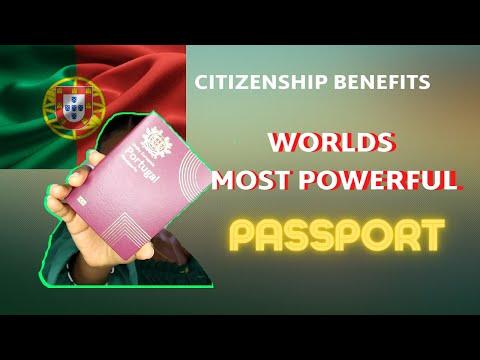 WORLD'S MOST POWERFUL PASSPORT (Citizenship Benefits)