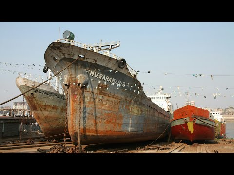 Ship Build Factory at Dhaka Buriganga River |Beautiful Bangladesh | Ship Making Documentary - Part-1