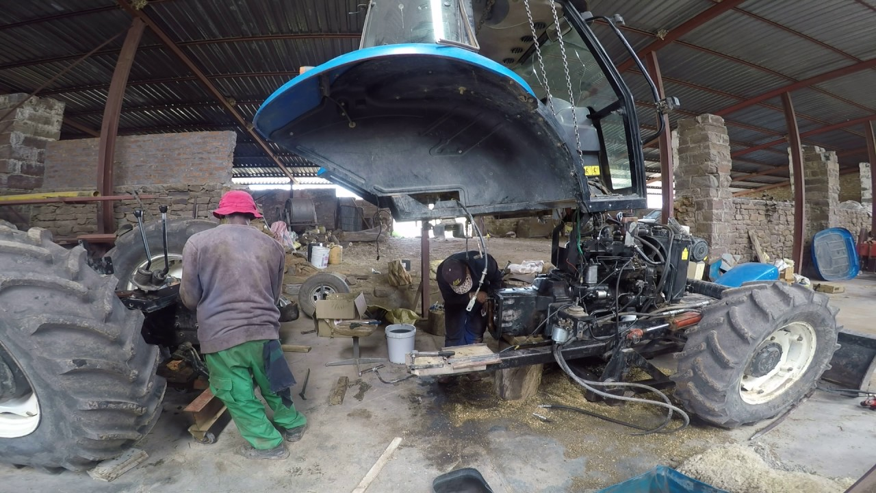 New Holland TD90 repair part1 - YouTube on