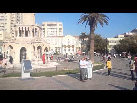 izmir-Konak Clock Tower in Konak square