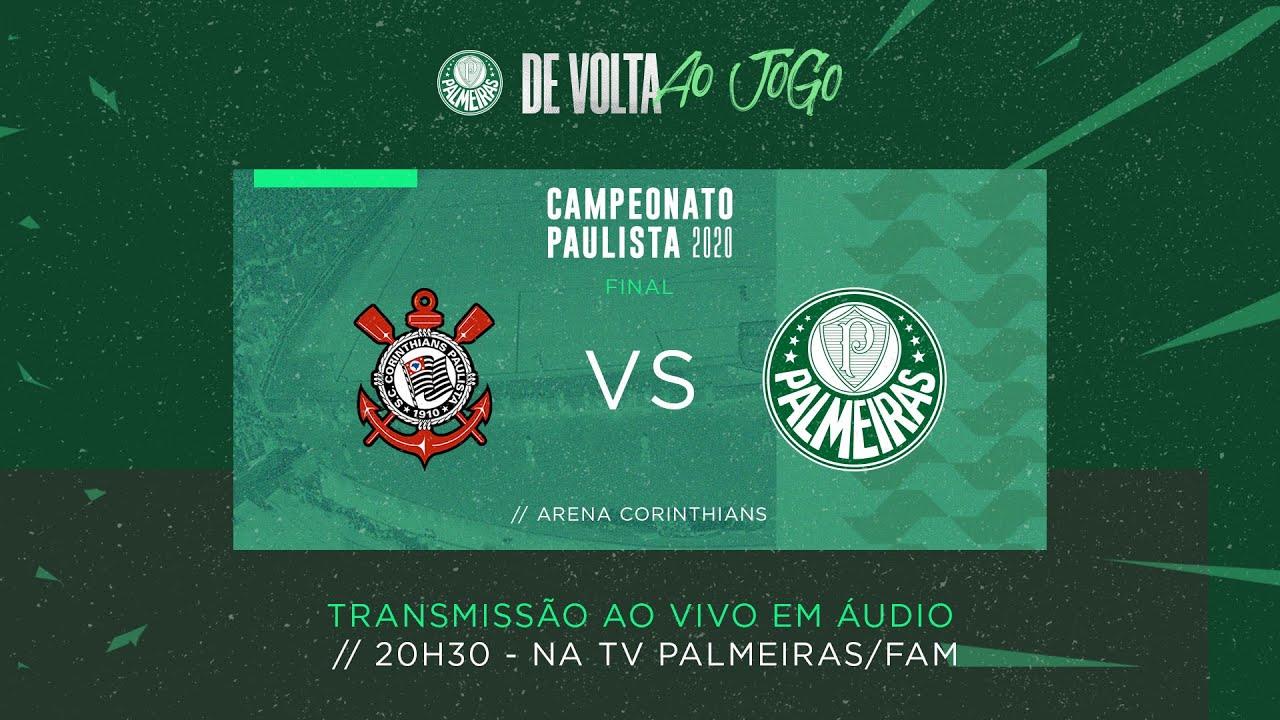 Pre Jogo Narracao E Coletiva Ao Vivo Corinthians X Palmeiras Final Paulista 2020 Youtube