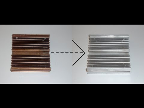 How to turn anodized aluminum to clean aluminum scrapping trick how to turn anodized aluminum to clean aluminum scrapping trick solutioingenieria Choice Image