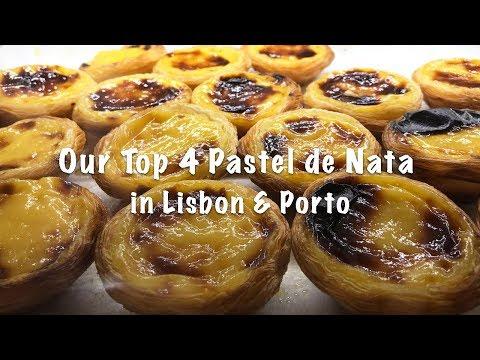 DaHungryCouple eats Portugal EP1 : Top 4 Pastel de Nata