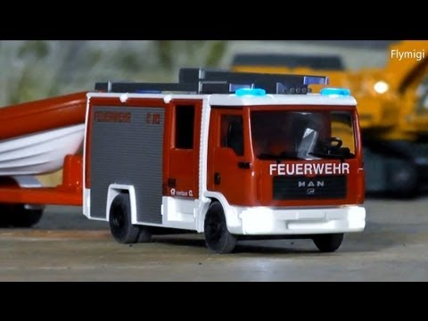 rc wiking control 87 feuerwehr fire car 1 87 scale h0. Black Bedroom Furniture Sets. Home Design Ideas