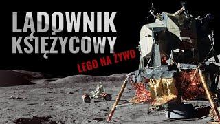 Budujemy lądownik księżycowy na żywo LEGO