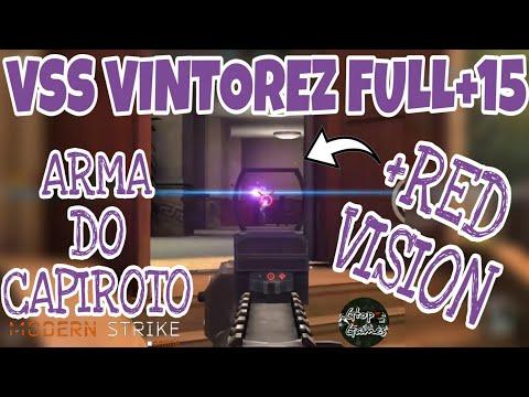 MSO, VSS VINTOREZ FULL+15 + RED VISION... ARMA DO CAPIROTO!!!