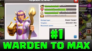 Clash of Clans Gem Grand Warden to LVL 2| Farm Grand Warden To Max