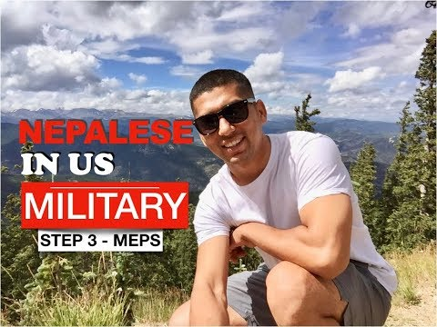 Nepalese in US Military - MEPS  VLog 3