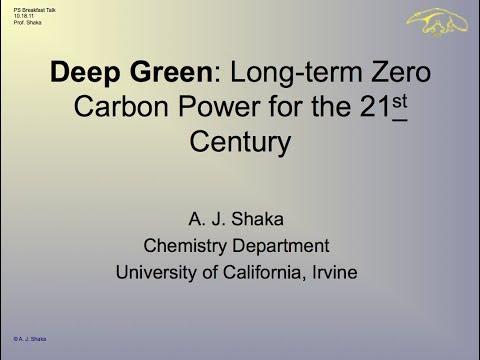 Deep Green: Long-Term Zero-Carbon Power for the 21st Century