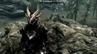 Daedric Armor Custom Retex