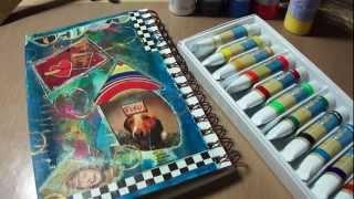 Gouache Vs Acrylic Paints for Mixed Media Art Journal